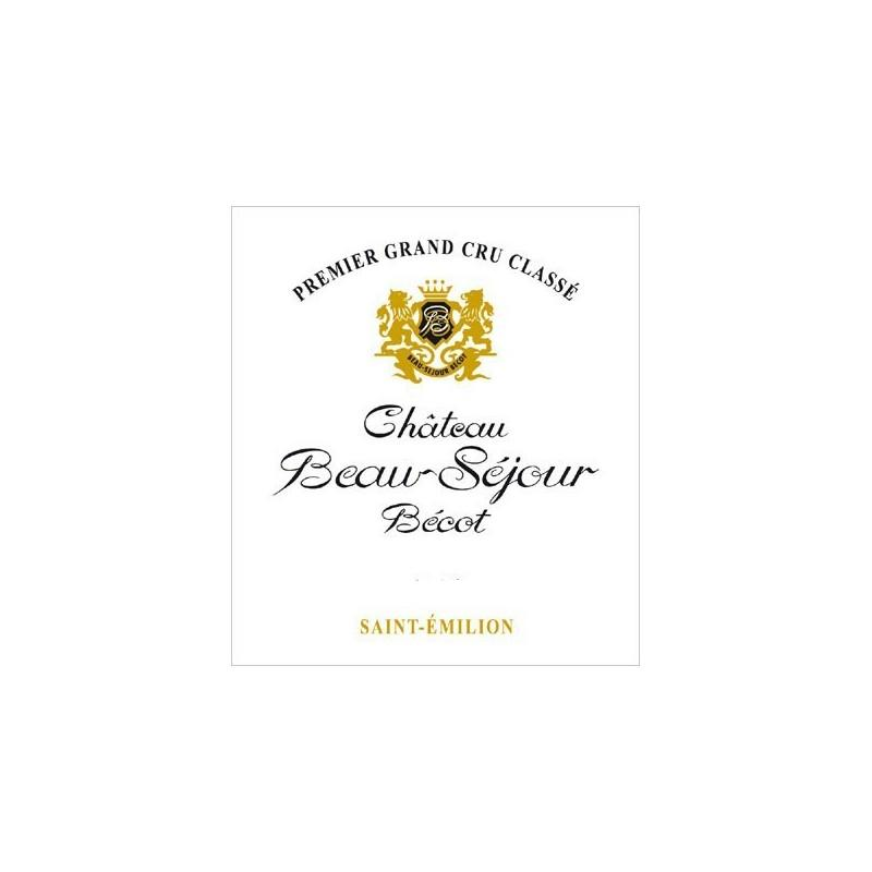 Château Beausejour-Becot 2006, Wine red