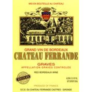 Ch teau ferrande graves rouge 1998 wine red for Chateau ferrande