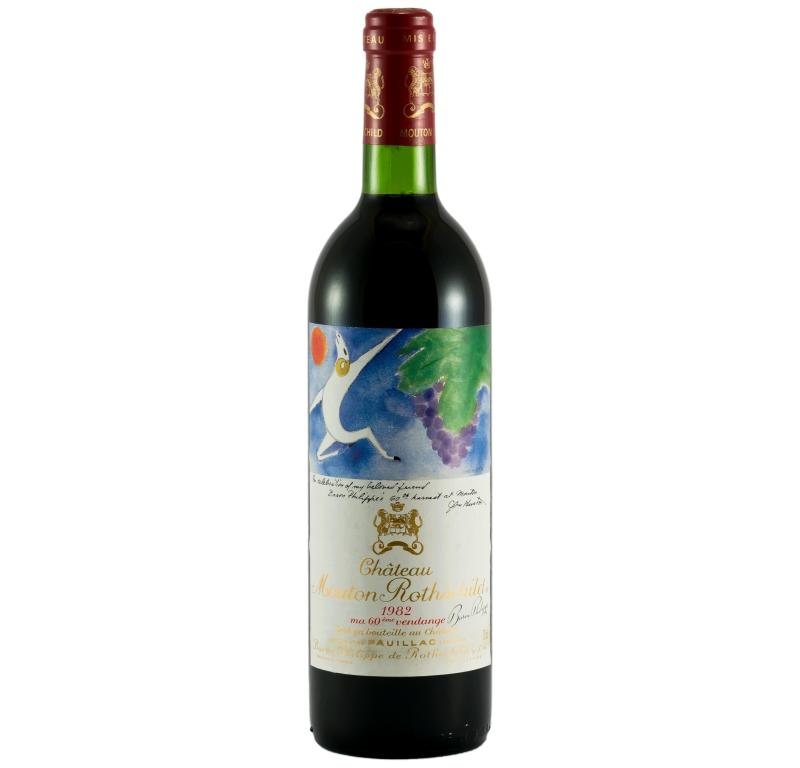 Buy Ch Teau Mouton Rothschild 1982 Red Wine