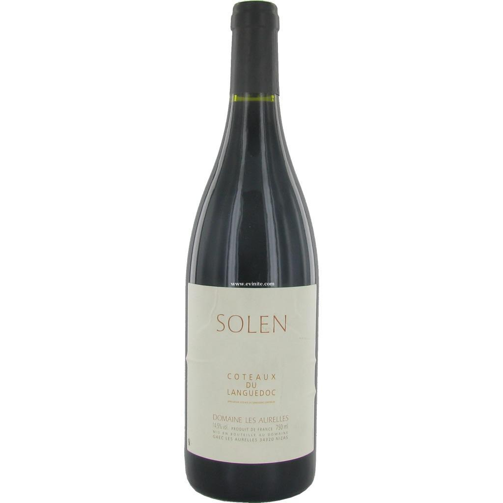 domaine les aurelles solen 2005 vin rouge. Black Bedroom Furniture Sets. Home Design Ideas