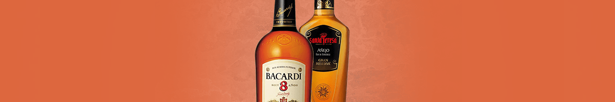 Our best-selling rum brands at the best price