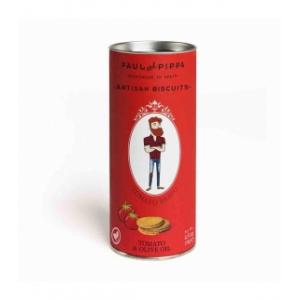 10 X Galletas Canister de Tomate 130g Paul & Pippa