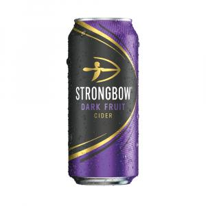 10 X Strongbow Dark Fruit Cider 440ml