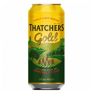 10 X Thatchers Gold Cider Cans 440ml