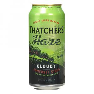 10 X Thatchers Somerset Haze Cider Cans 440ml