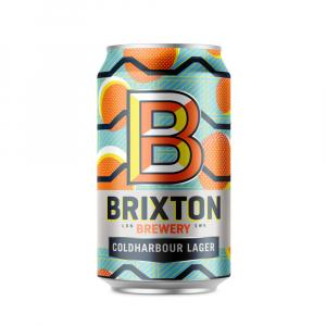 12 X Brixton Brewery Coldharbour Lager Cans