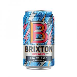 12 X Brixton Brewery Low Voltage Session Ipa Cans