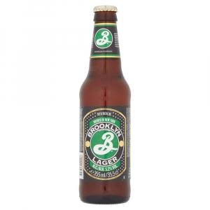 12 X Brooklyn Amber Lager 355ml