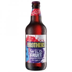 12 X Brothers Wild Fruit Cider 50cl