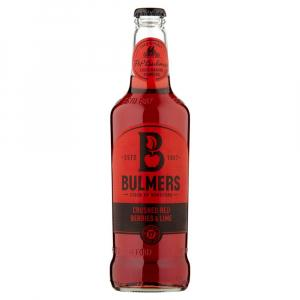 12 X Bulmers Crushed Red Berries & Lime Cider 50cl