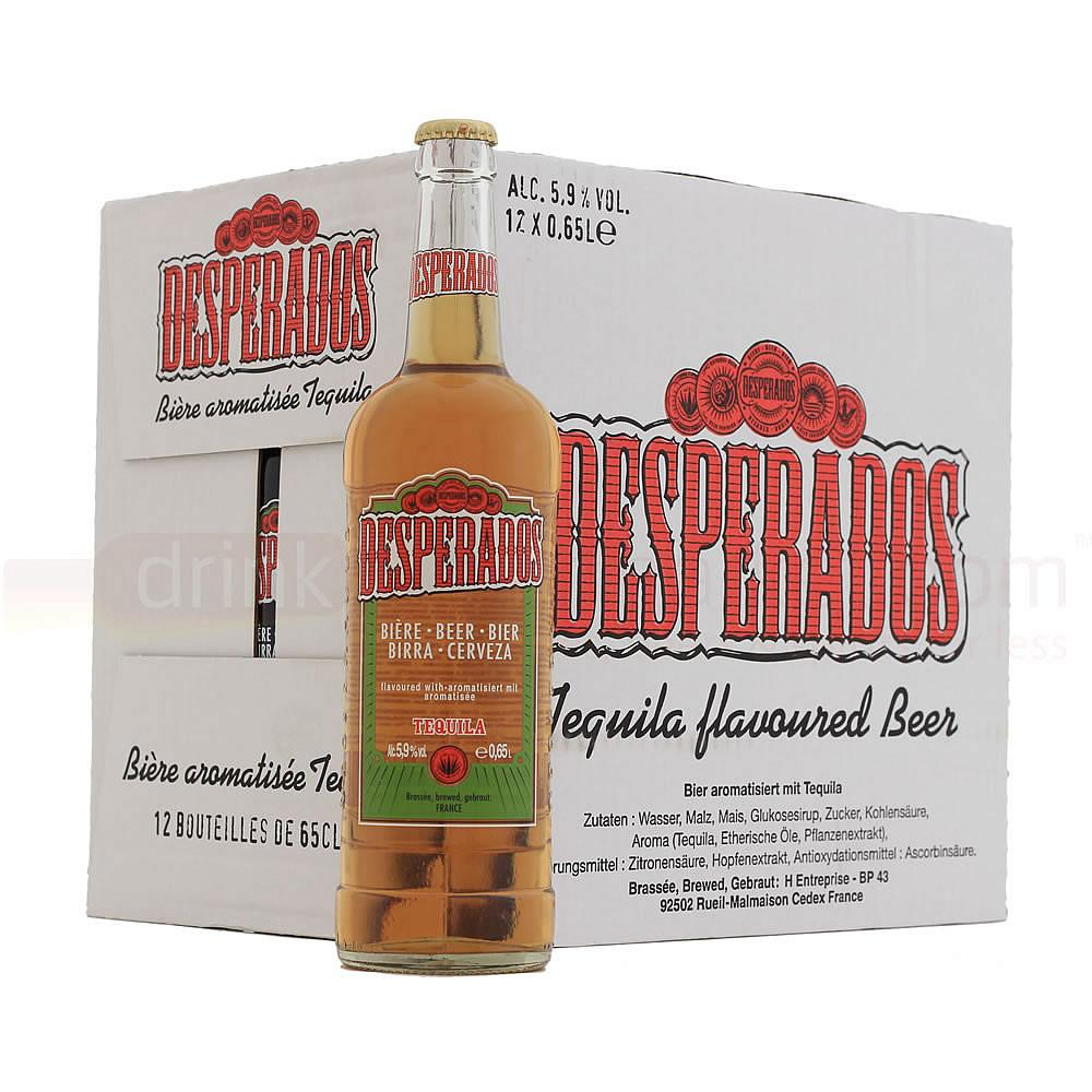 Buy 12 X Desperados Tequila Lager 65cl Price And Reviews At Drinks Co