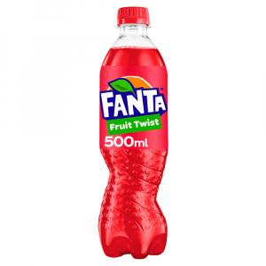 12 X Fanta Fruit Twist 500ml