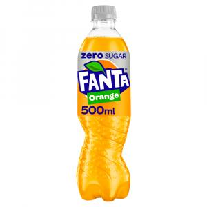 12 X Fanta Orange Zero 500ml