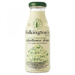 12 X Folkington's Elderflower Drink 250ml