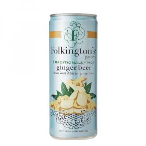 12 X Folkington's Sparkling Ginger 250ml