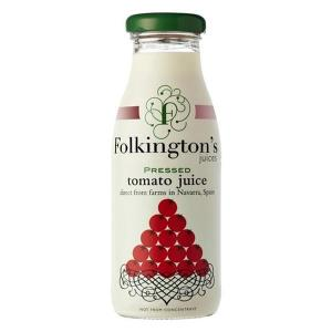 12 X Folkington's Tomato Juice 250ml