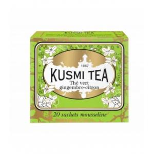 12 X Ginger-Lemon Green Tea 20 Muslins.