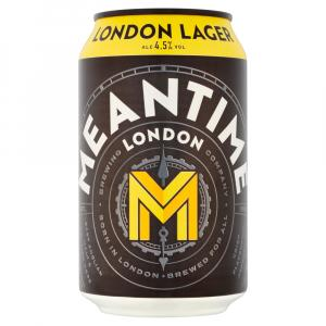 12 X Meantime London Lager Cans