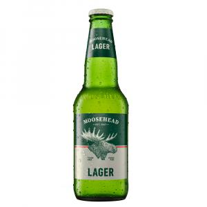 12 X Moosehead Lager 350ml