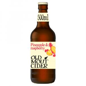 12 X Old Mout Pineapple & Raspberry Cider 50cl