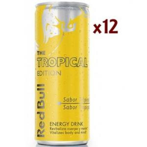 12 X Red Bull Tropical Edition