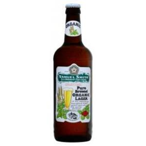 12 X Samuel Smith Pure Bre.Organic Lager 55cl