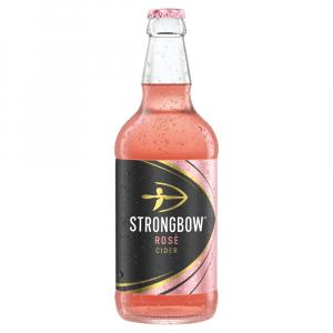 12 X Strongbow Rose Cider 50cl