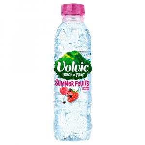 12 X Volvic Touch Of Fruits Summer Fruits Sugar Free 500ml