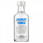 120 X Mini Absolut Vodka