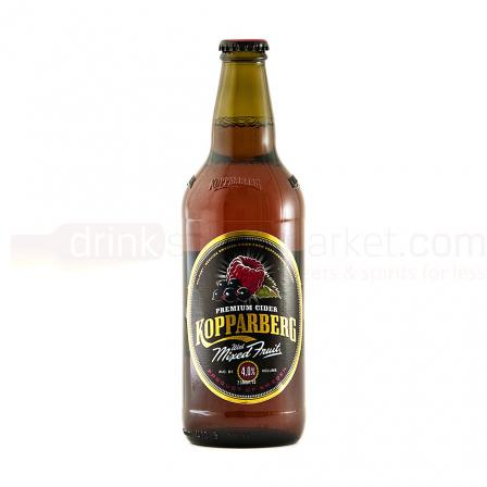 15 X Kopparberg Mixed Fruit Cider 50cl