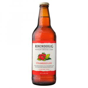 15 x Rekorderlig Strawberry & Lime Cider 50cl