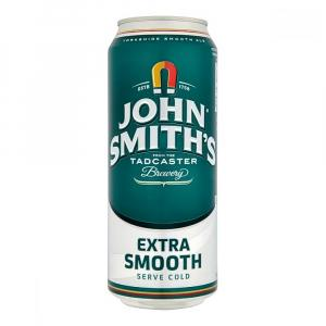 18 X John Smith's Extra Smooth Cans 440ml