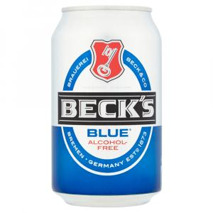 24 X Becks Blue Alcohol Free Cans