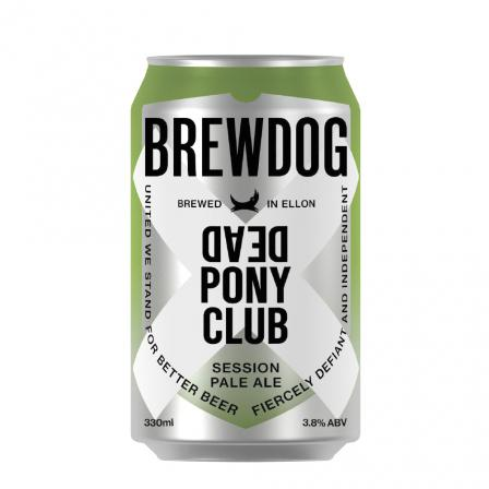 24 X Brewdog Dead Pony Club Cans