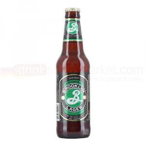 24 X Brooklyn Amber Lager 355ml
