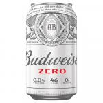 24 X Budweiser 0.0 Alcohol Free Lager