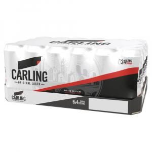 24 X Carling Original Lager 50cl