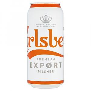24 X Carlsberg Export Lager Cans 50cl
