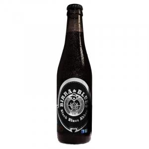 24 X Cerveja Blues Black Blues Abbey Caixa