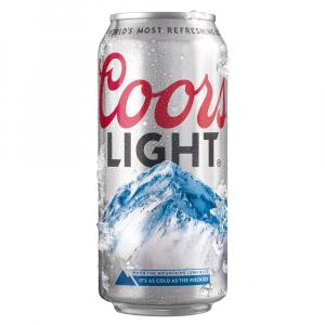 24 X Coors Light Cans 50cl