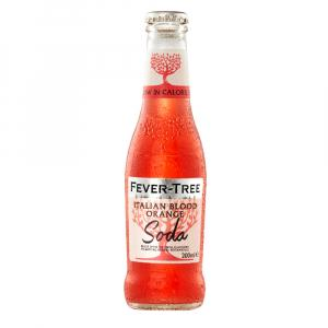 24 X Fever Tree Italian Blood Orange Soda 200ml
