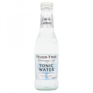 24 X Fever Tree Naturally Light Tonic 200ml
