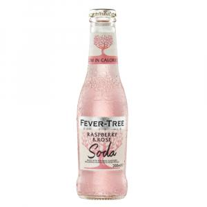 24 X Fever Tree Raspberry & Rose Soda 200ml