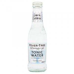 24 X Fever Tree Refreshingly Light Indian Tonic Water 20cl