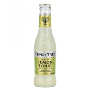 24 X Fever Tree Sicilian Lemon Tonic 200ml