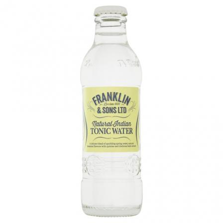 24 X Franklin & Sons Natural Indian Tonic 200ml