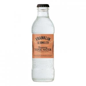 24 X Franklin & Sons Rosemary & Black Olive Tonic 200ml