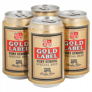 24 X Gold Label Strong Cans