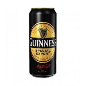 24 X Guinness 8 Special Export Lata Caja 50cl