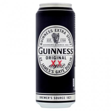 24 X Guinness Original Extra Stout Cans 50cl
